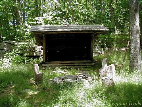 Legend Woods Adirondack Shelter