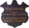 Pachaug State Forest sign